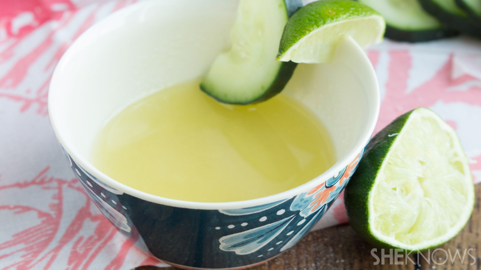 Margarita DIY facial scrub