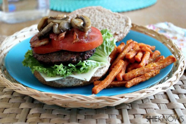 Make your own burger bar