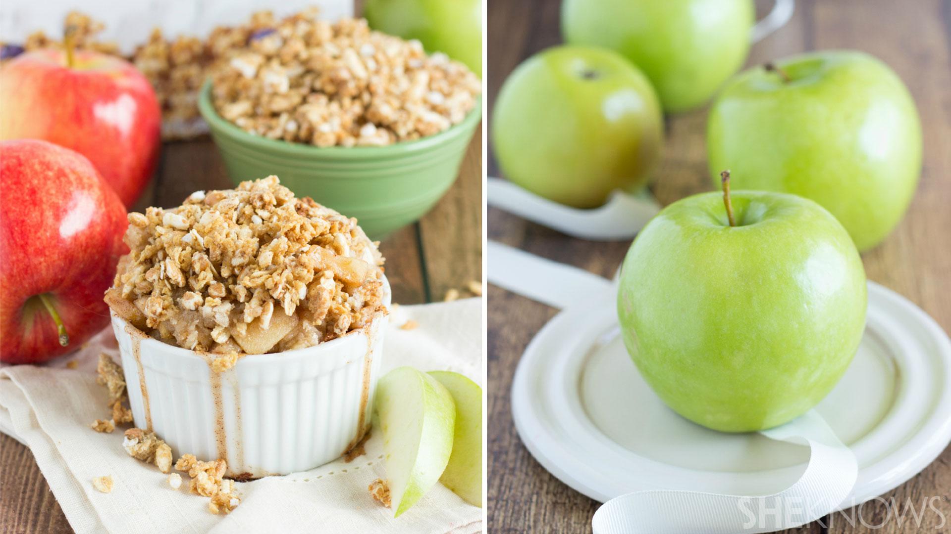 Miniature apple pies