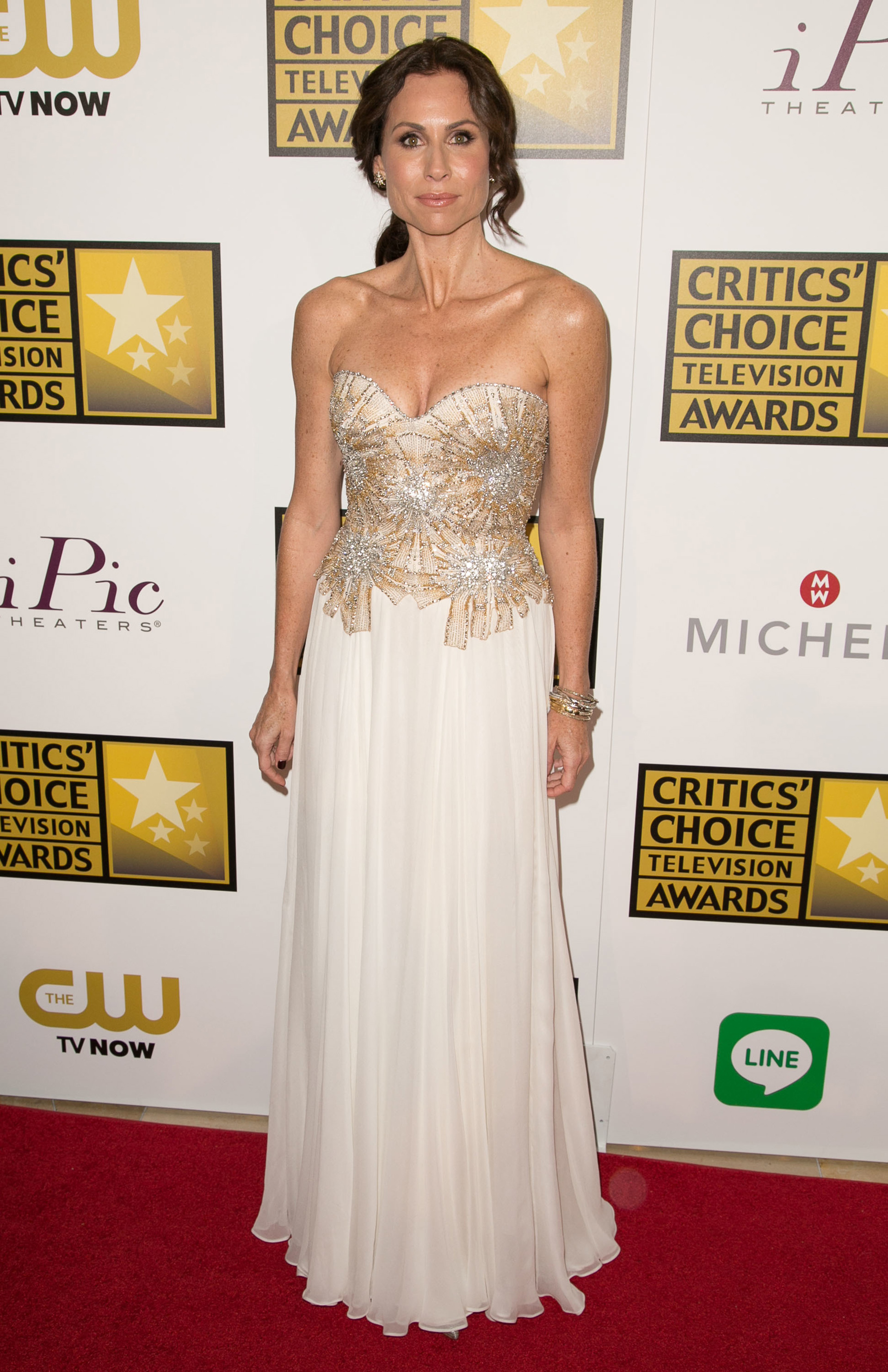 Minnie Driver at the Critic's Choice Awards