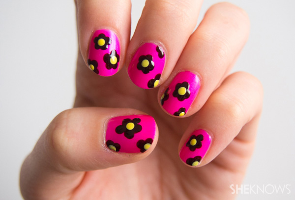 Mother and daughter nail art ideas