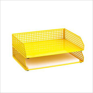 Stacking letter tray