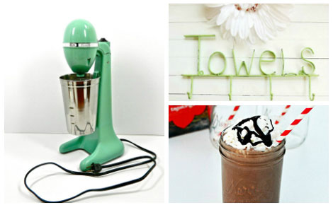 Milkshake, towel holder, drink master