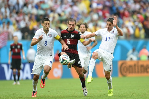 World Cup 2014 USA vs Germany