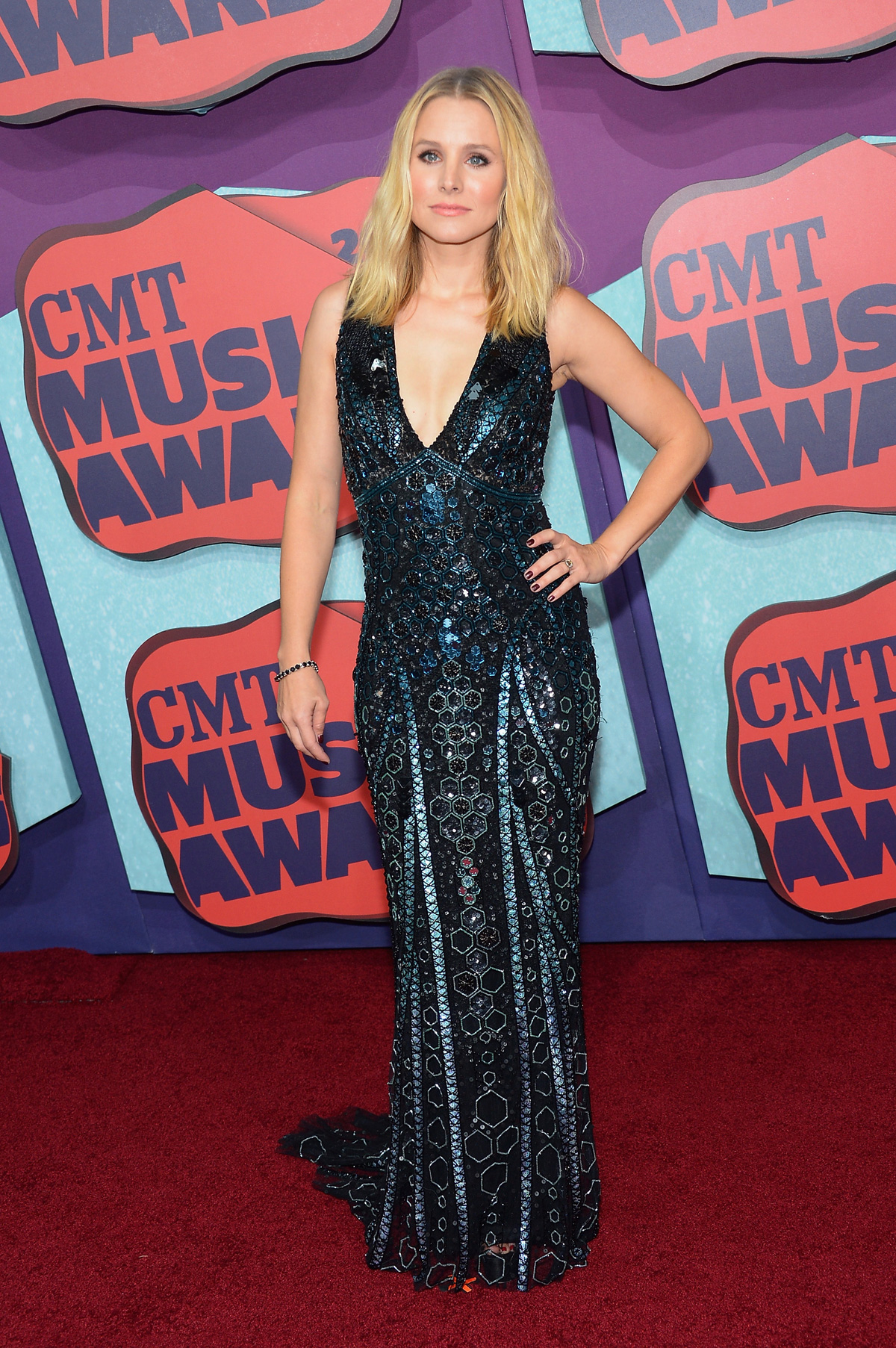 Kristen Bellat the the 2014 CMT Music Awards