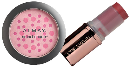5 minute makeup- cheek color