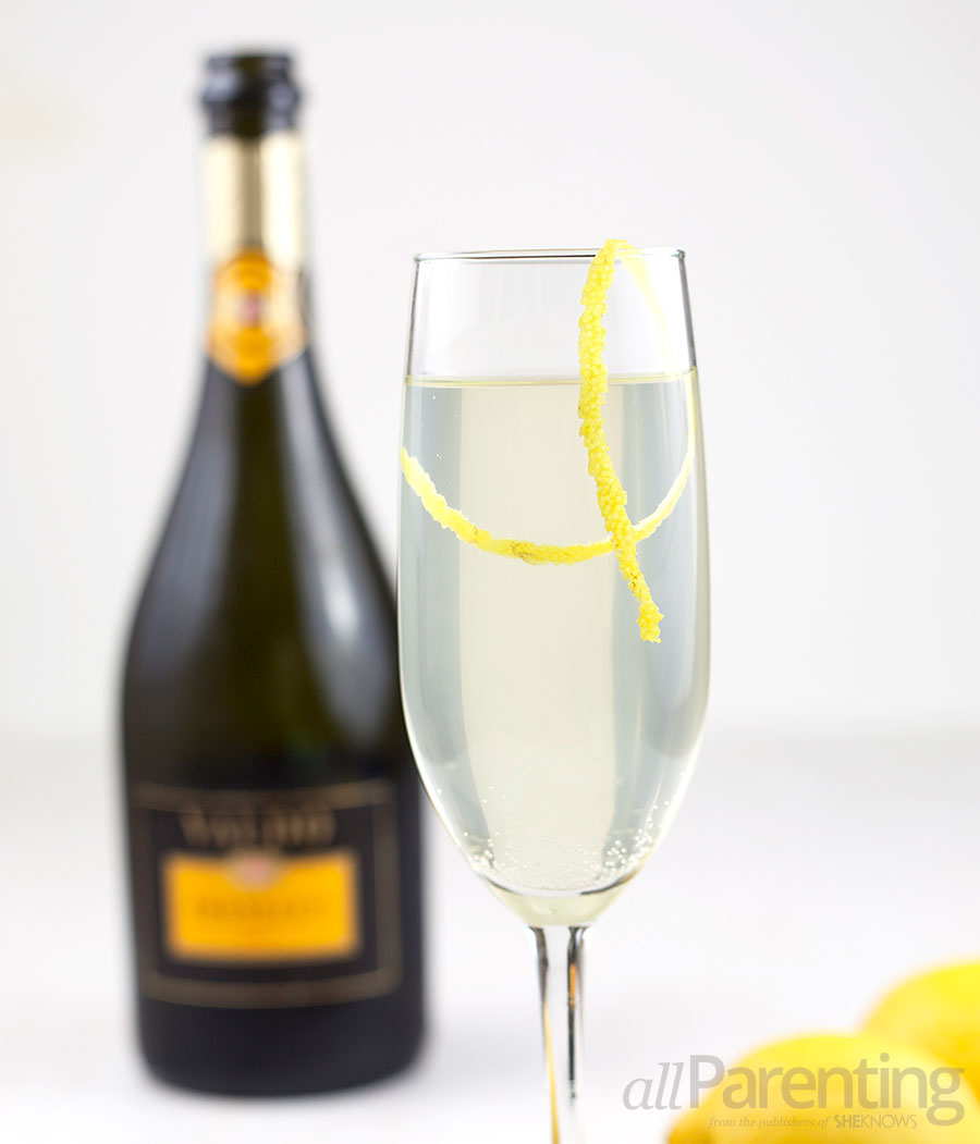 allParenting Sparkling lemonade cocktail