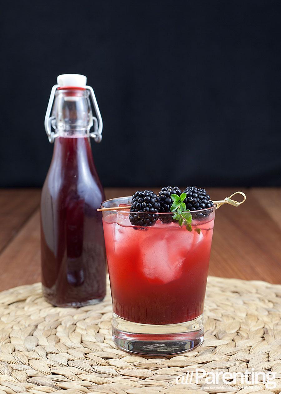 allParenting Blackberry thyme shrub