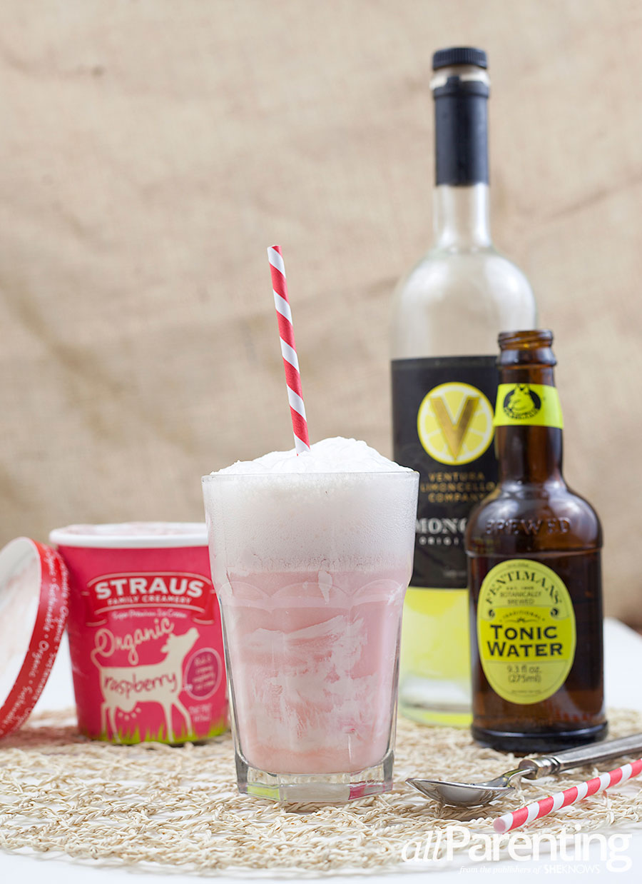 allParenting Limoncello and tonic float
