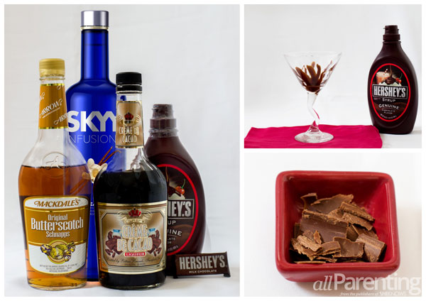 allParenting Chocolate cocktail collage