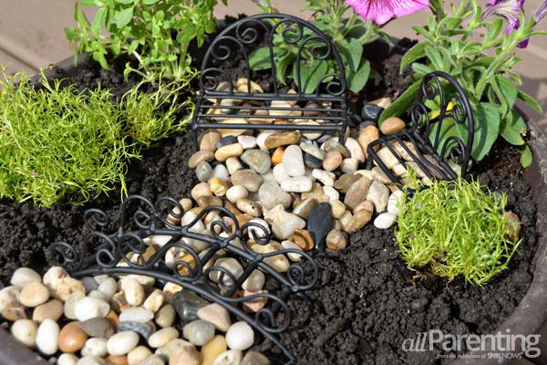allParenting backyard fairy garden step 4