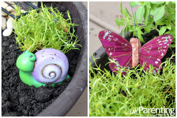 allParenting backyard fairy garden step 5
