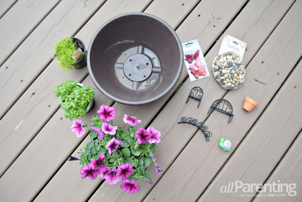 allParenting backyard fairy garden supplies
