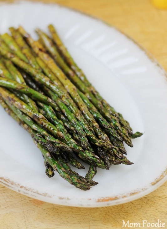 Grilled veggies- Grilled Balsamic Asparagus