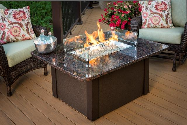 Outdoor living- firepit