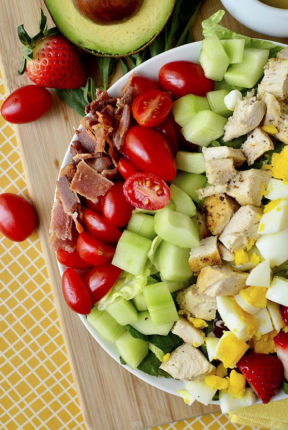 Simple summer salads- California cobb salad