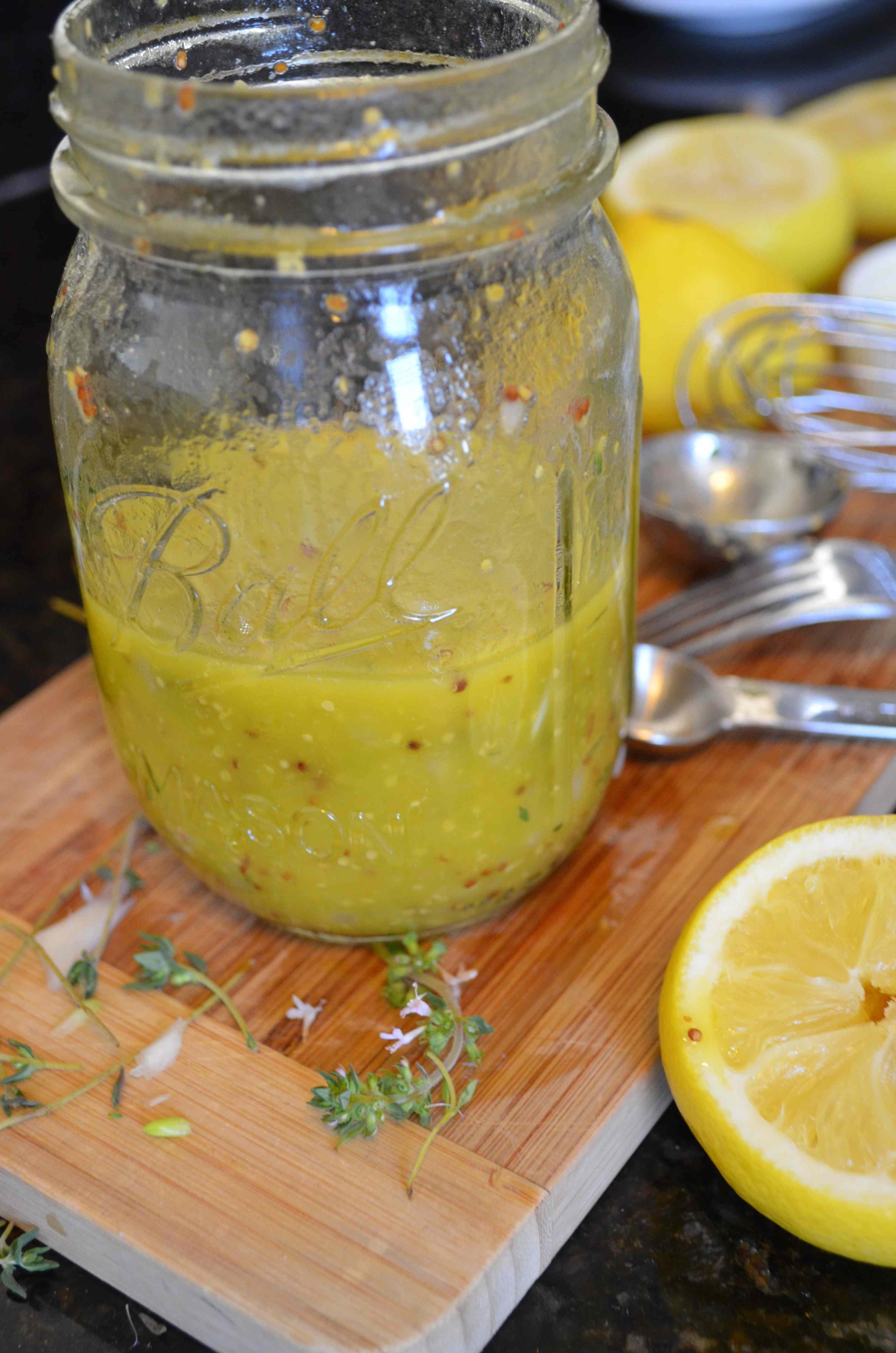 Maria Provenzano's Lemon, Mustard, and Thyme Salad Dressing