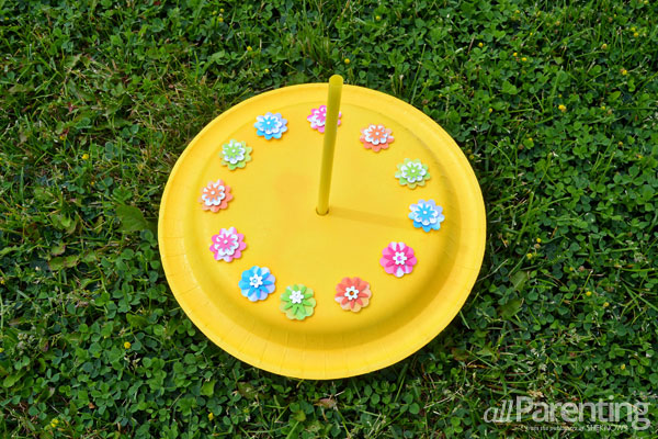 allParenting DIY sun dial craft