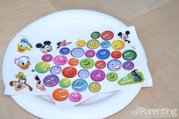 allParenting tantrum kit- Stickers in the round