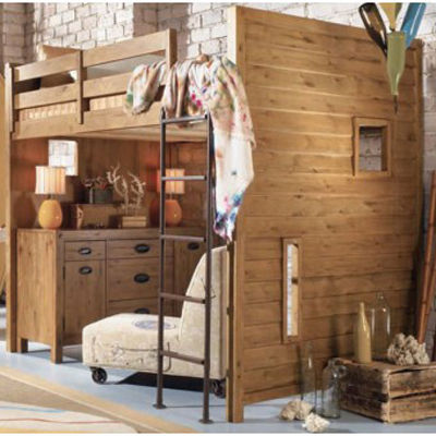 7 cool bunk beds even adults will love Adult loft bed