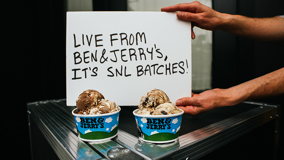 Ben & Jerry's launches SNL-themed ice cream