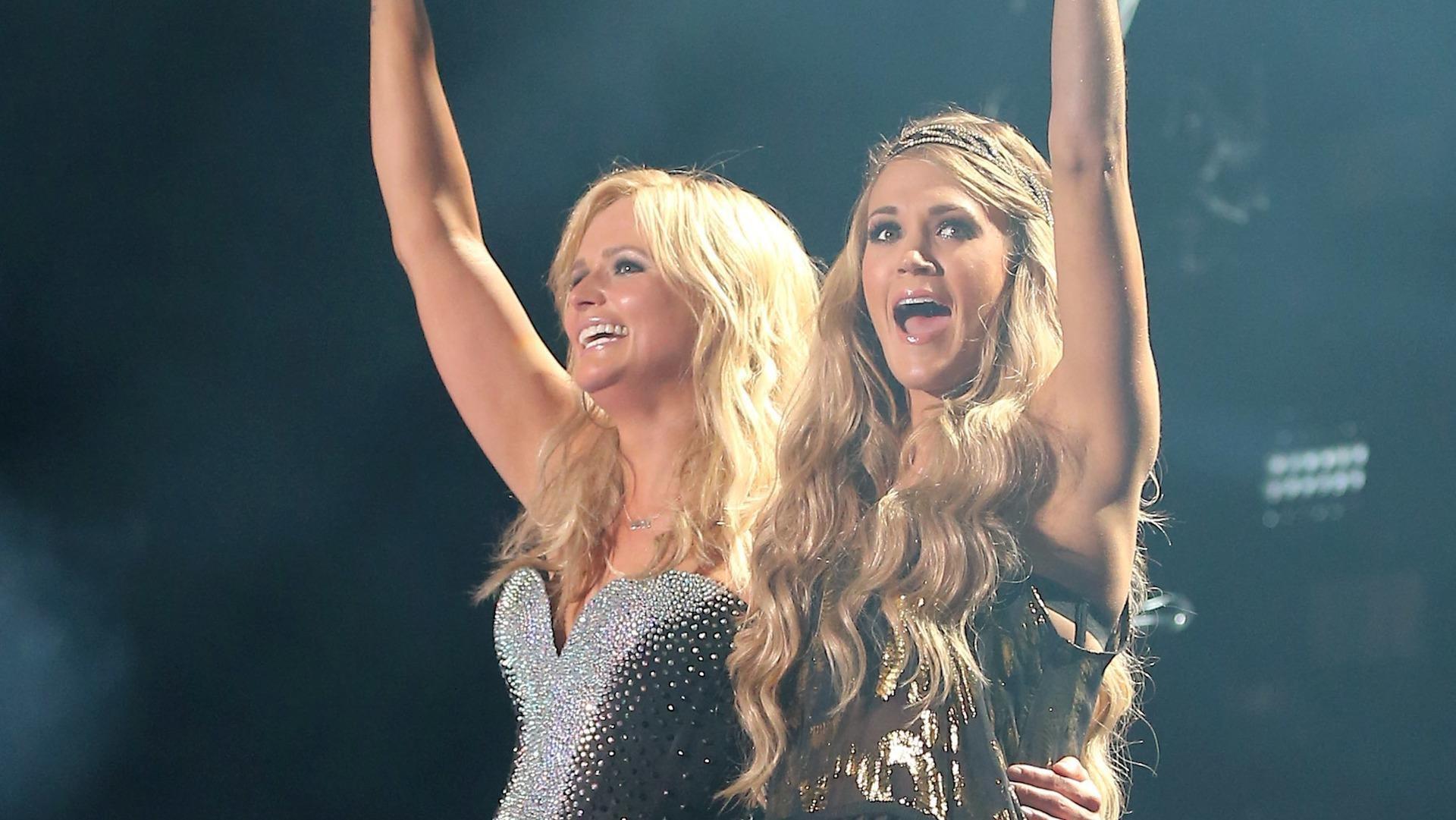 Carrie Underwood, Miranda Lambert CMA Music Festival