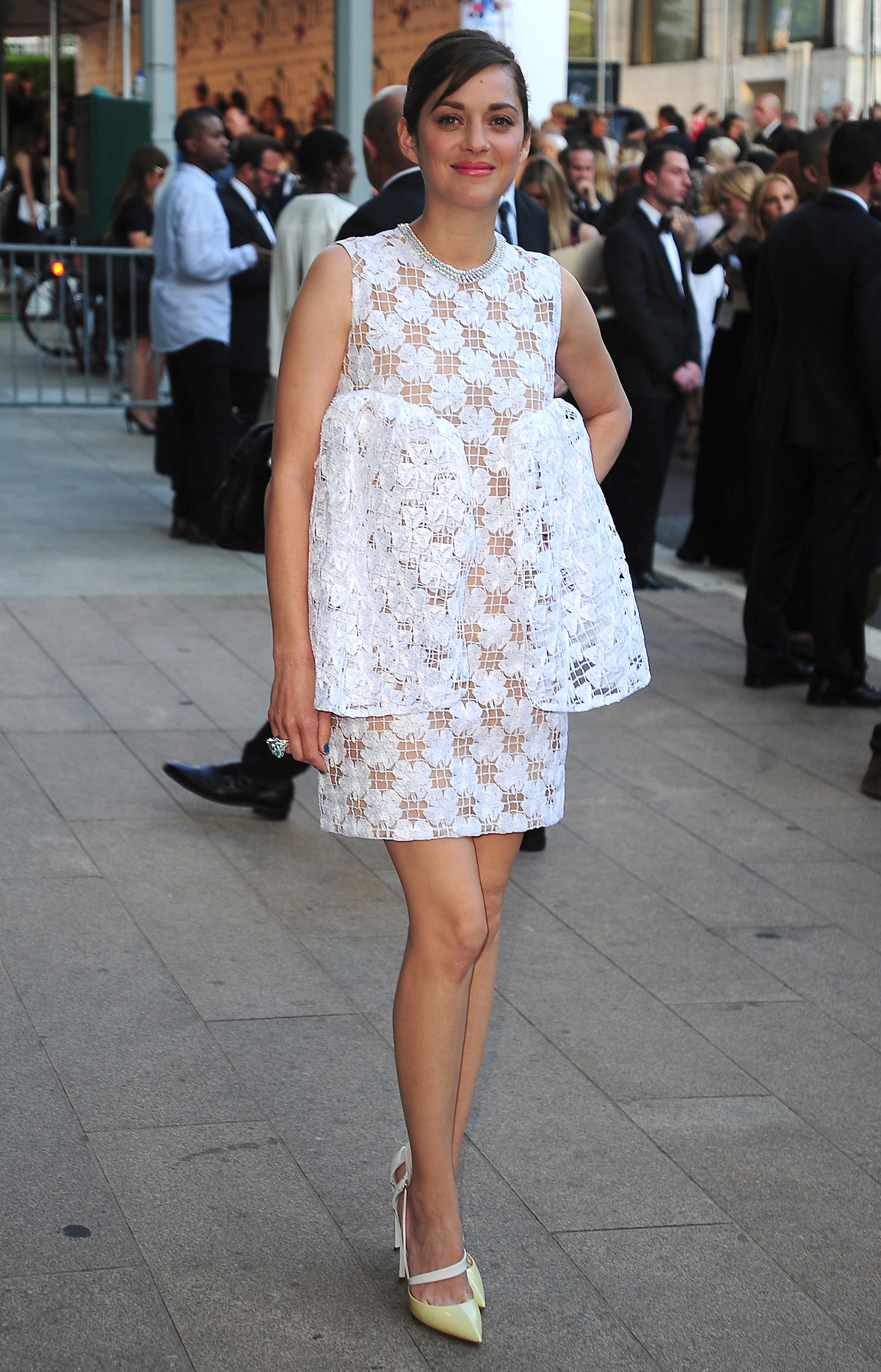Marion Cottilard at the 2014 CFDA