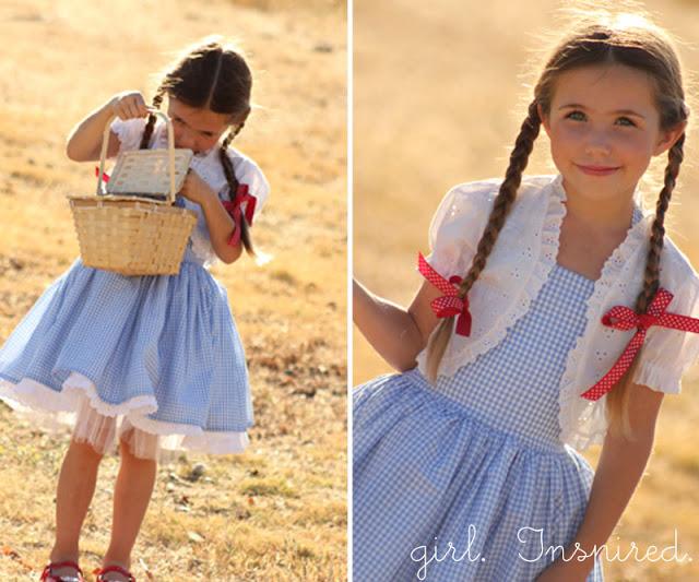 DIY Dorothy dress