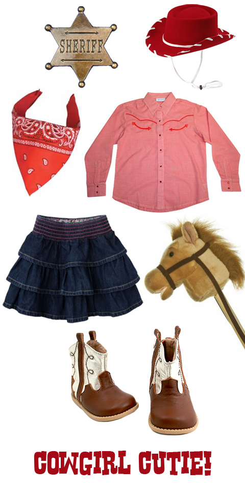 Encourage pretend play with creative dress-up costumes