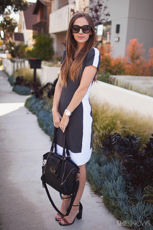 Biến chiếc váy chật thành trang phục hợp mốt ảnh 4
