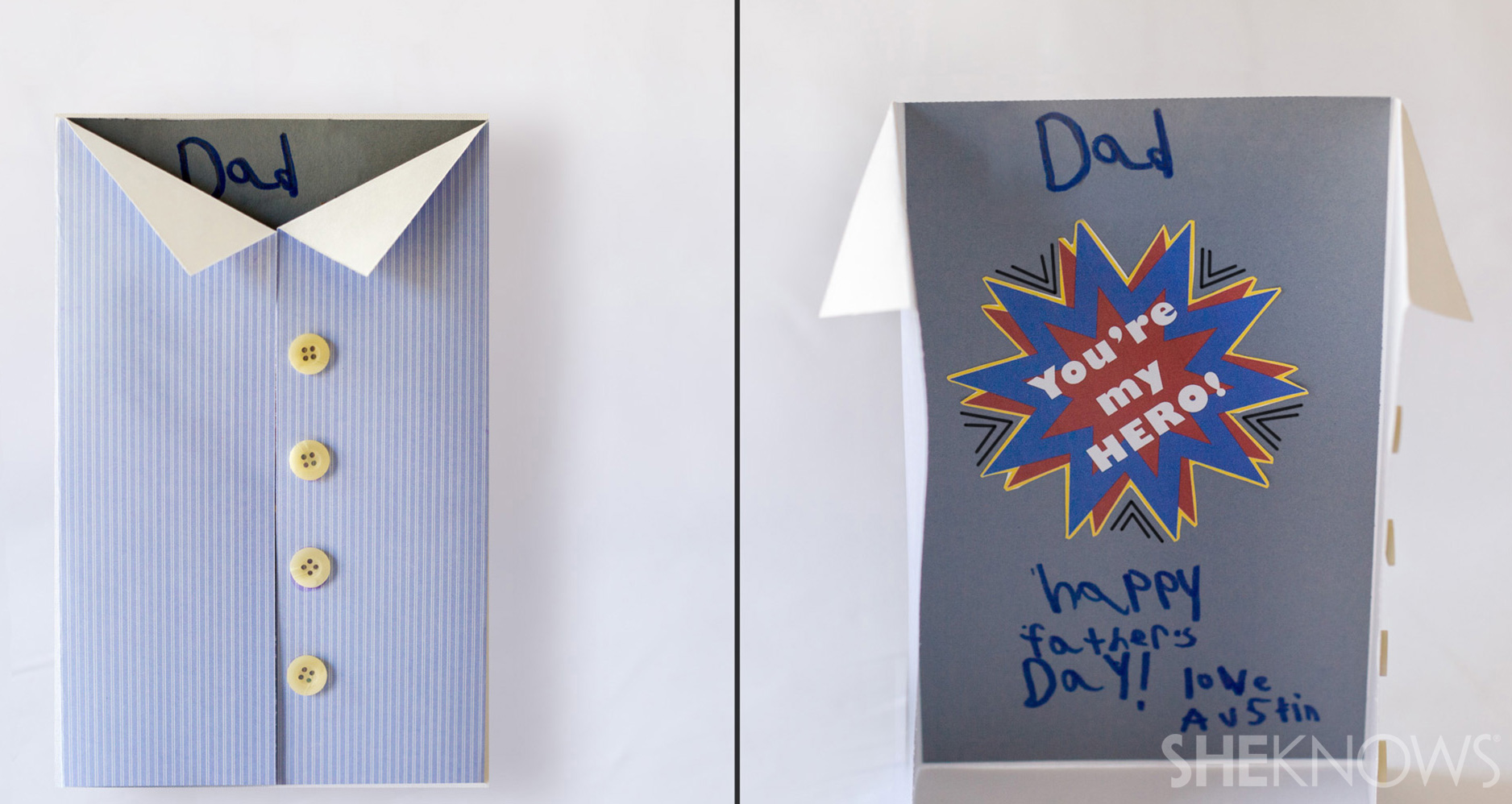 Super hero Father's Day card | Sheknows.com