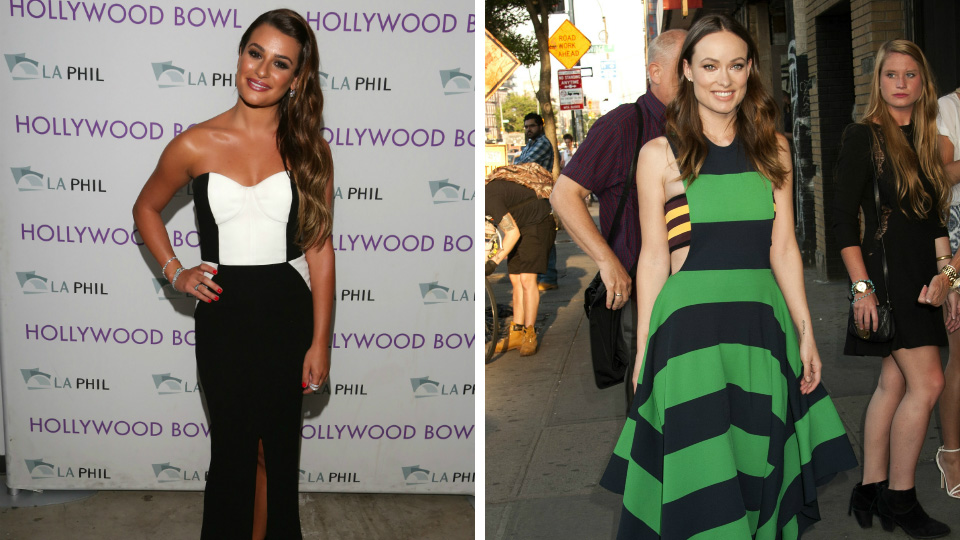Friday's Fashion Obsessions: Lea Michele and Olivia Wilde