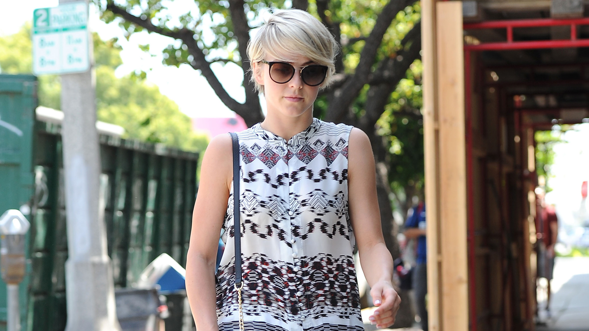 Get the look: Julianne Hough's summer prints