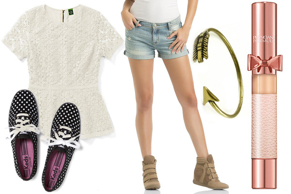 Get the look: Zendaya's girly casual vibe