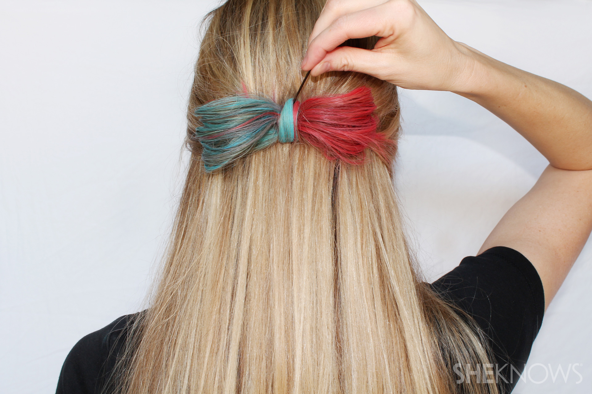 Hair-chalked hairstyles