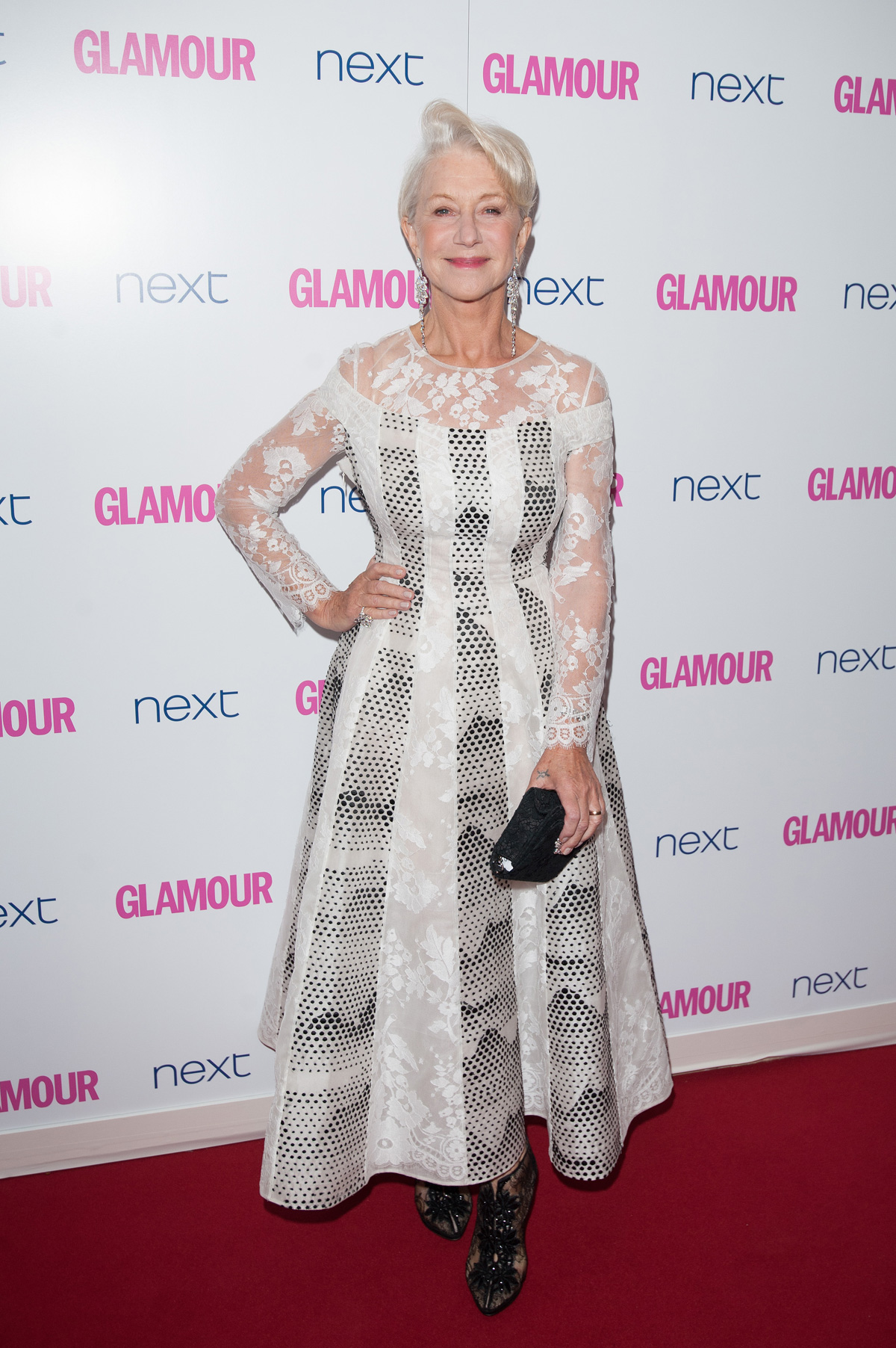 Helen Mirren at the Glamour Women of the Year Awards