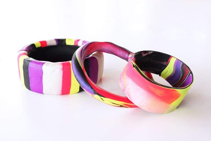 Clay polymer bracelet