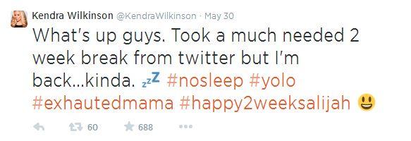 Celebrity moms on Twitter