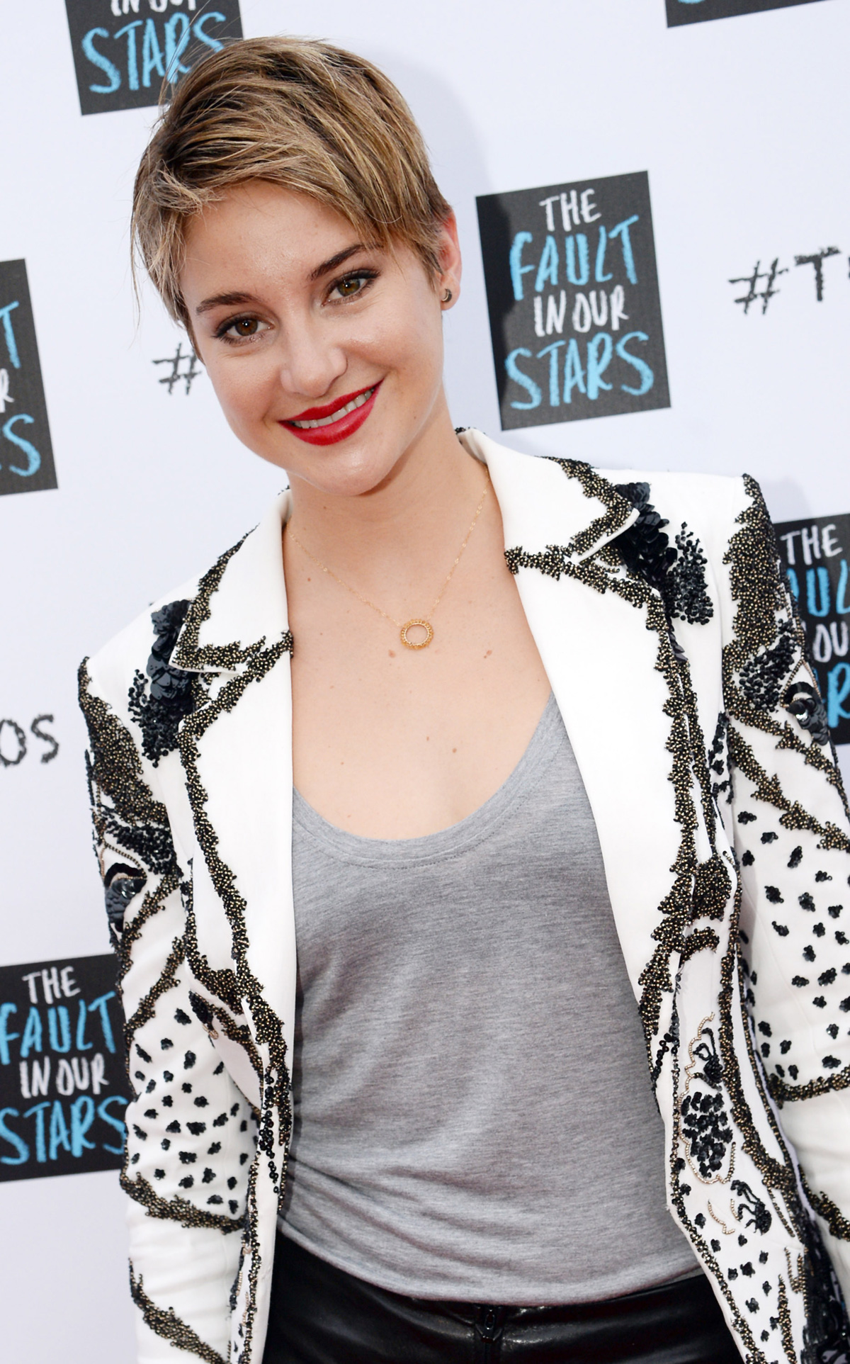 Shailene Woodley's pretty, unique style