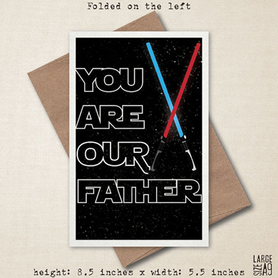Star Wars Father's Day cards 4