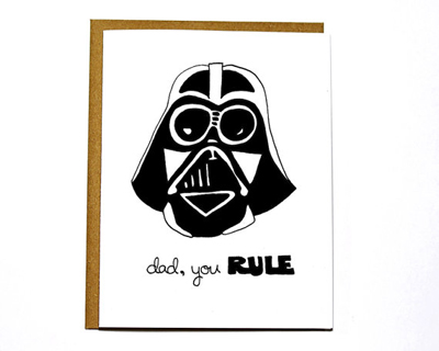 Star Wars Father's Day cards 5