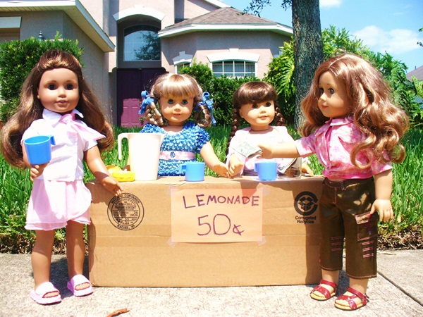 doll lemonade stand