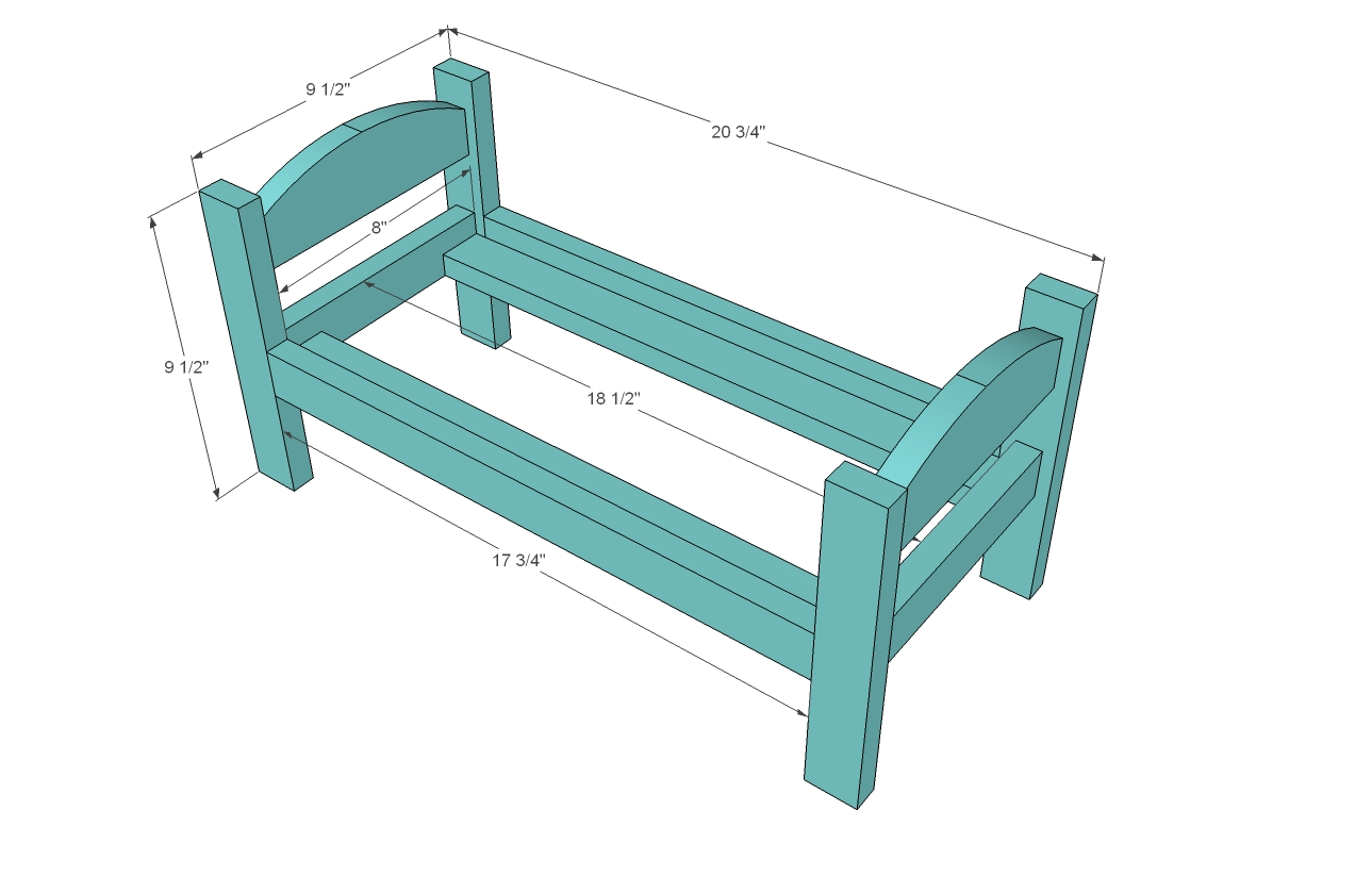 Woodwork Doll Bed Plans American Girl PDF Plans