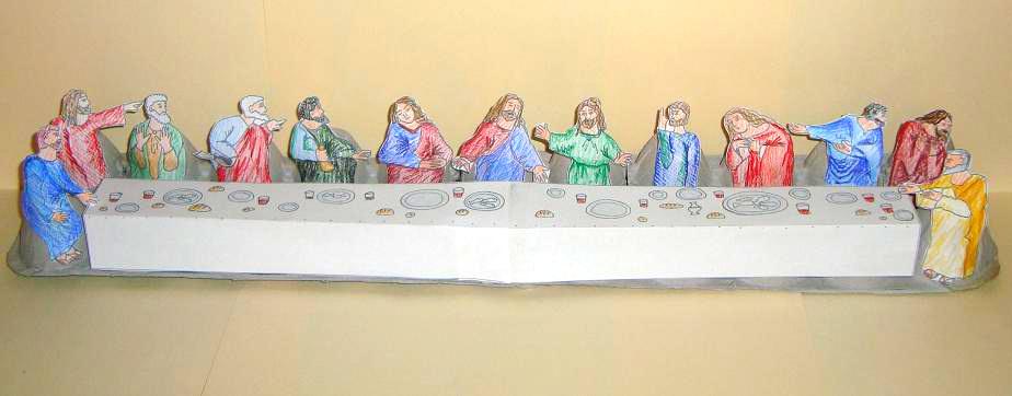 Last Supper craft