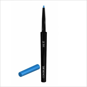 Get the look: CoverGirl Ink It! By Perfect Point Plus in Aquamarine Ink (drugstore.com, $7)