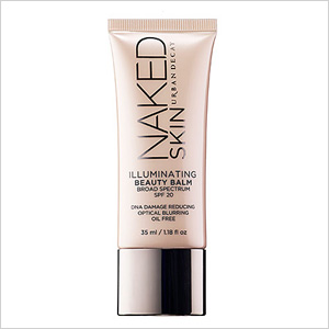 Get the look: Urban Decay Naked Skin Beauty Blam in Illuminating (sephora.com, $34)