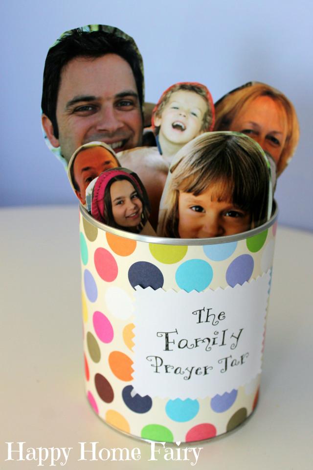 Family prayer jar