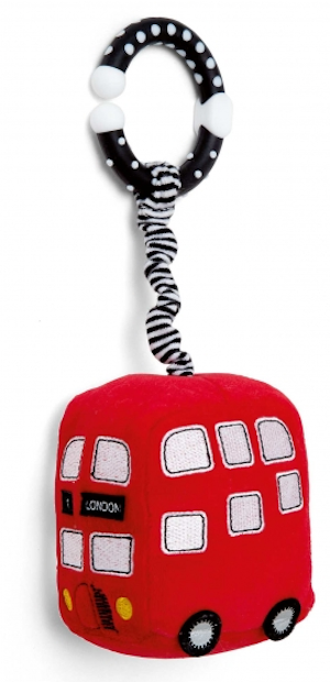 Double decker bus toy