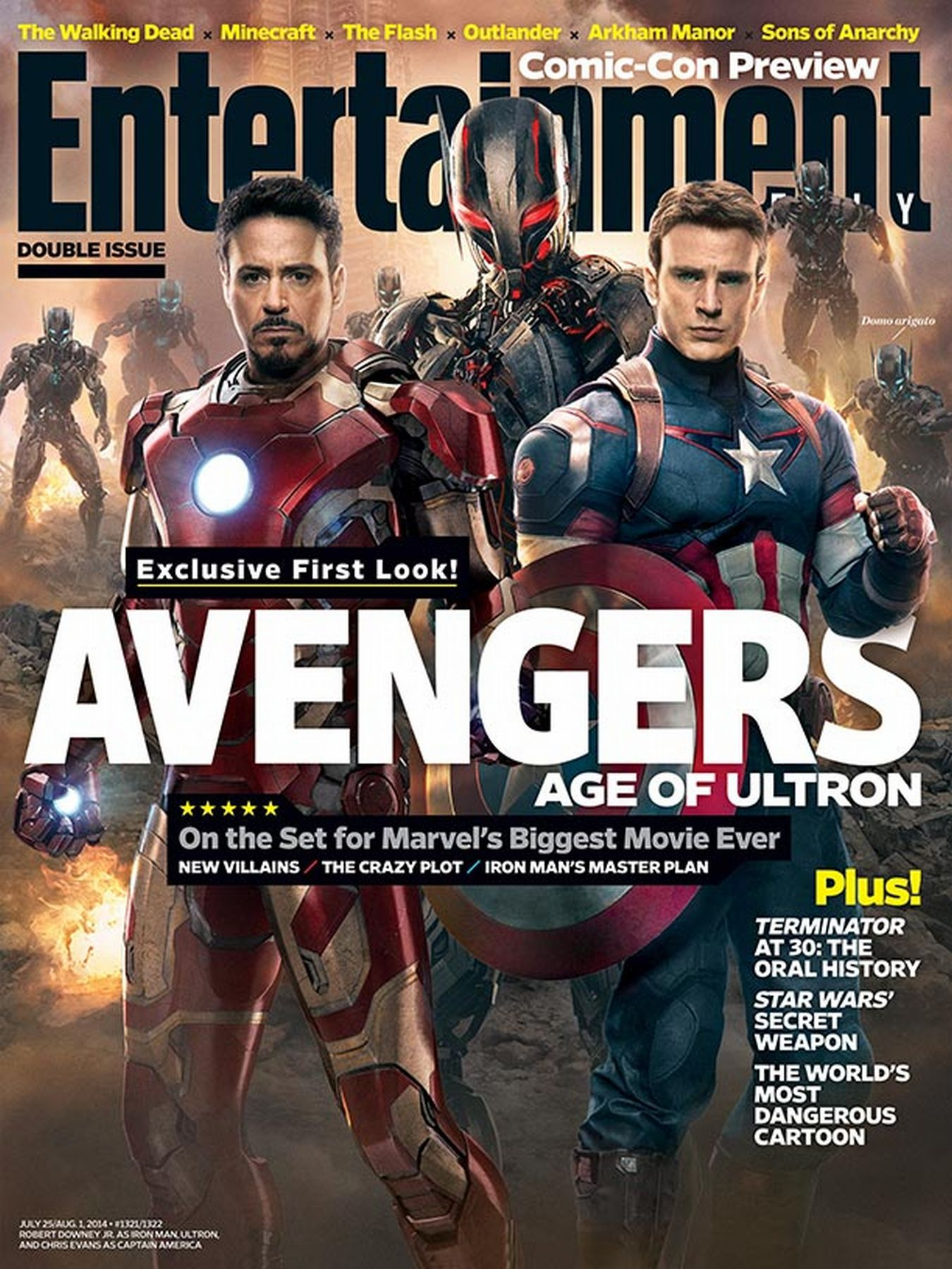 EW cover The Age of Ultron