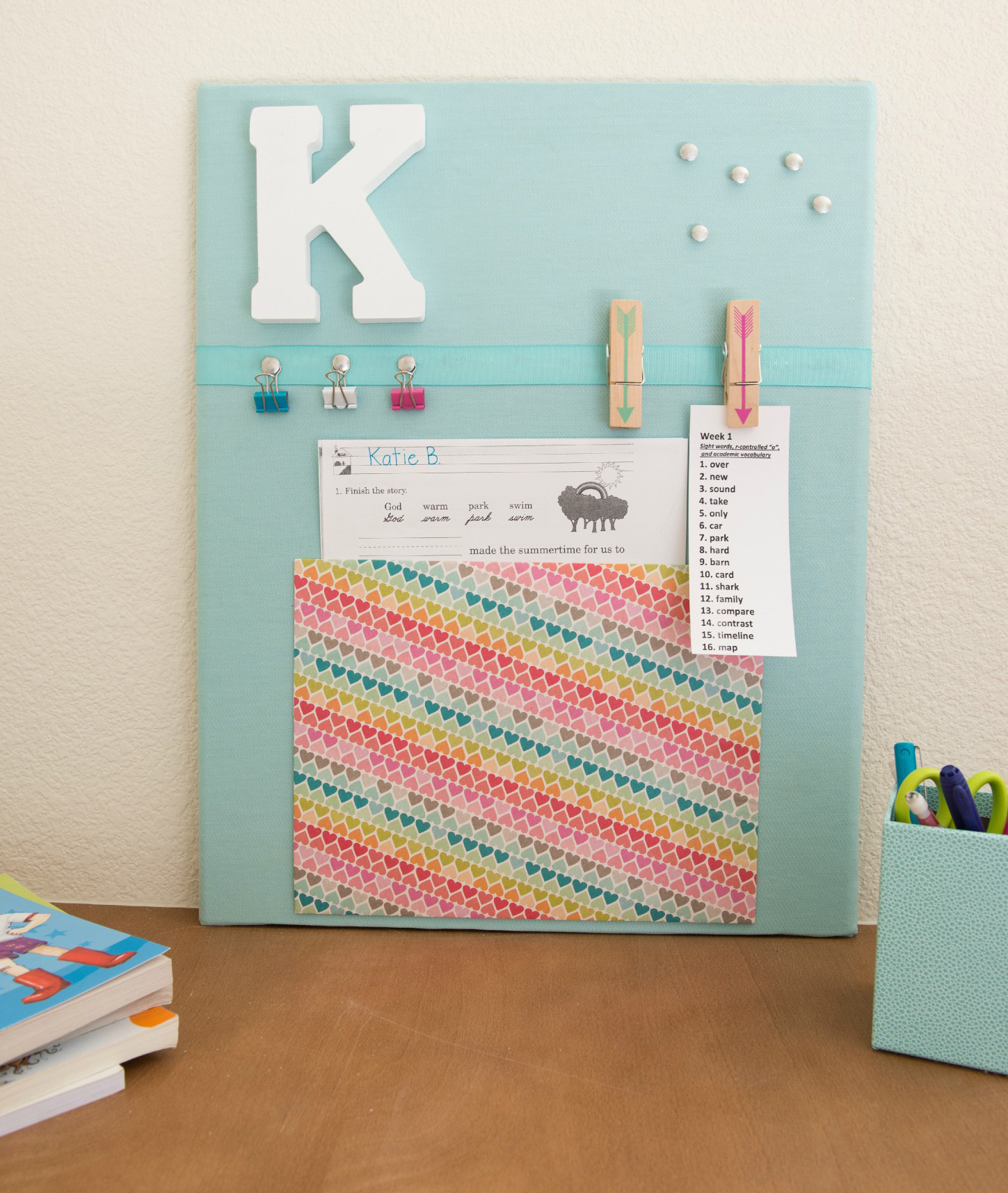 Back to school Bulletin board | Sheknows.com - final product